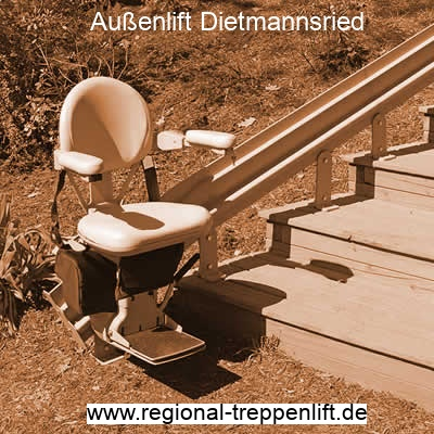 Außenlift  Dietmannsried