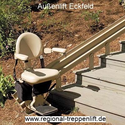 Außenlift  Eckfeld