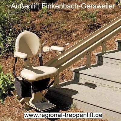 Außenlift  Finkenbach-Gersweiler