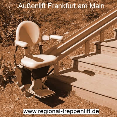 Treppenlifte für Garten, Park oder Außengelände