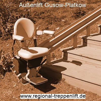 Außenlift  Gusow-Platkow
