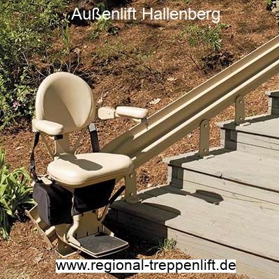 Außenlift  Hallenberg