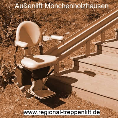 Außenlift  Mönchenholzhausen