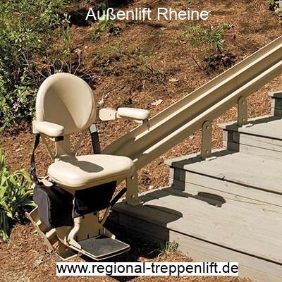 Außenlift  Rheine