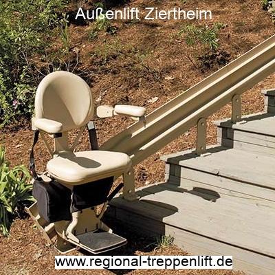 Außenlift  Ziertheim