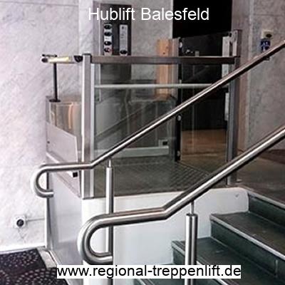 Hublift  Balesfeld
