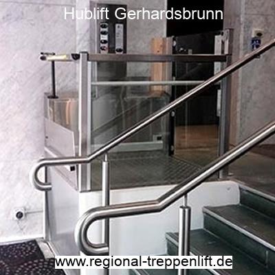 Hublift  Gerhardsbrunn