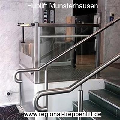 Hublift  Münsterhausen