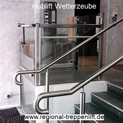 Hublift  Wetterzeube