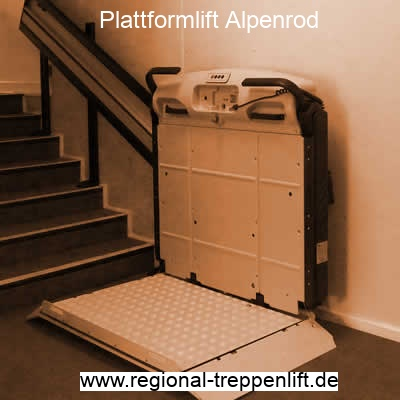 Plattformlift  Alpenrod