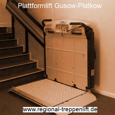 Plattformlift  Gusow-Platkow