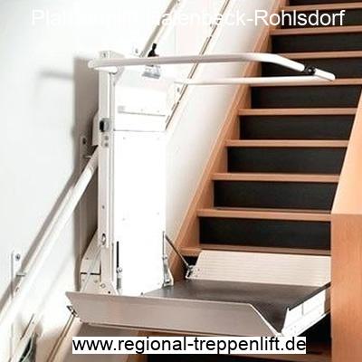 Plattformlift  Halenbeck-Rohlsdorf