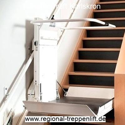 Plattformlift  Karlskron