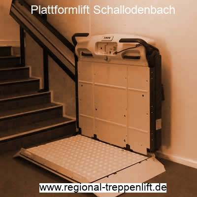 Plattformlift  Schallodenbach