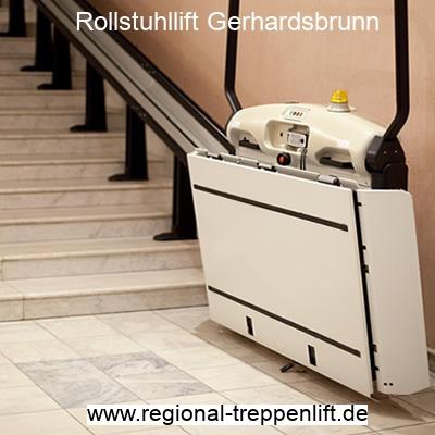 Rollstuhllift  Gerhardsbrunn