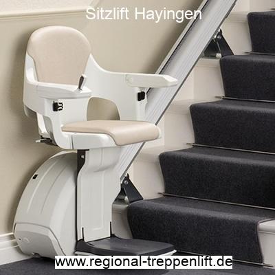 Sitzlift  Hayingen