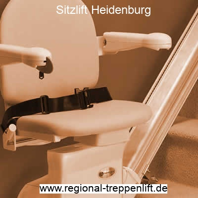 Sitzlift  Heidenburg