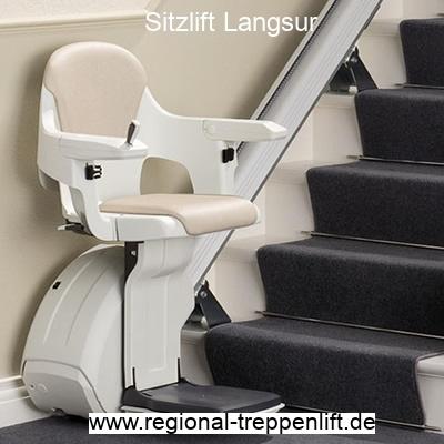Sitzlift  Langsur