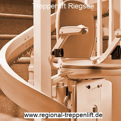 Treppenlift  Riegsee