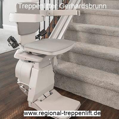 Treppenlifter  Gerhardsbrunn