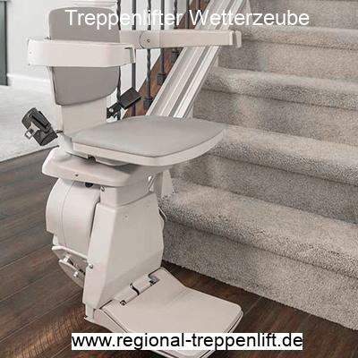 Treppenlifter  Wetterzeube