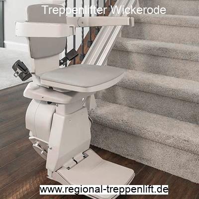 Treppenlifter  Wickerode