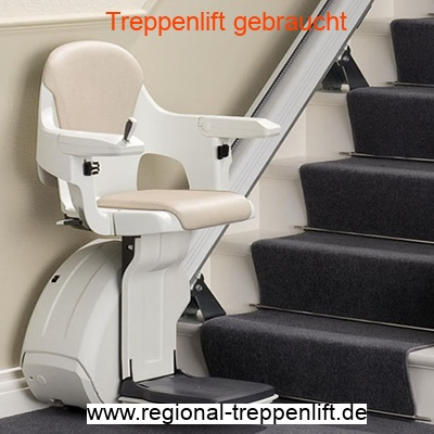 Gerader Treppenlift gebraucht