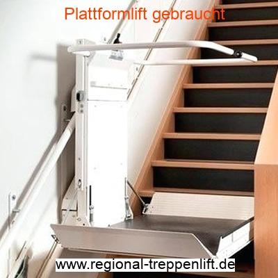 Plattformlift gebraucht