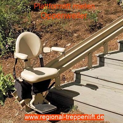 Außenlift mieten in Oppenweiler