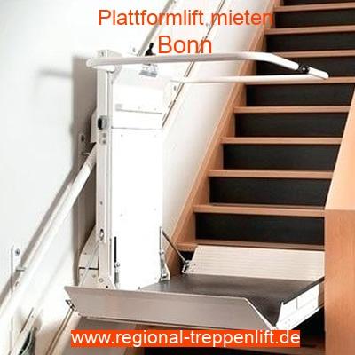 Plattformlift mieten in Bonn