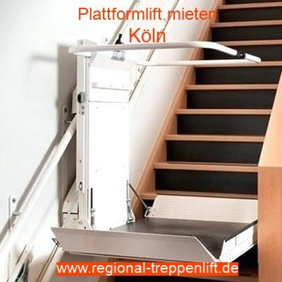 Plattformlift mieten in Köln
