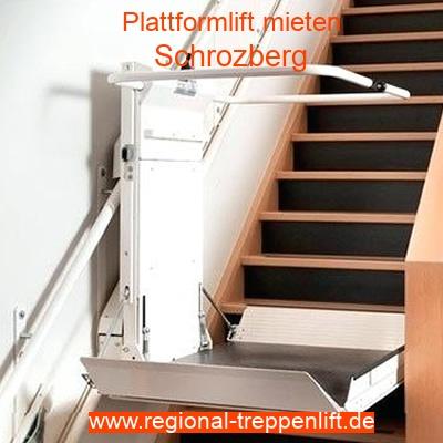 Plattformlift mieten in Schrozberg