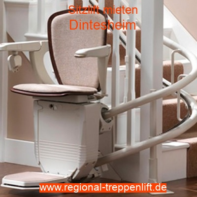 Sitzlift mieten in Dintesheim