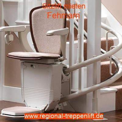 Sitzlift mieten in Fehmarn