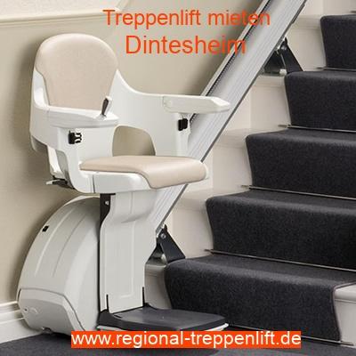 Treppenlift mieten in Dintesheim