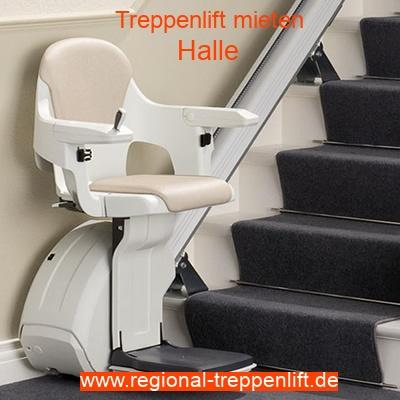 Treppenlift mieten in Halle