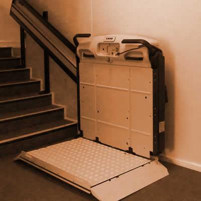 Plattformlift für Rollstuhl